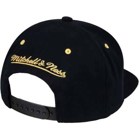 MITCHELL & NESS - BROOKLYN NETS - BLACK & GOLD - NBA SNAPBACK