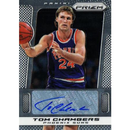TOM CHAMBERS - SUNS - KARTA NBA - KARTA Z AUTOGRAFEM