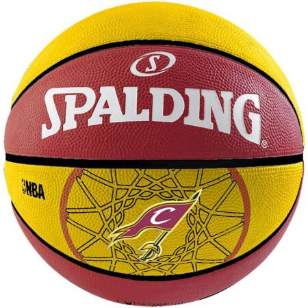 PIŁKA SPALDING NBA TEAM BALL CLEVELAND CAVALIERS