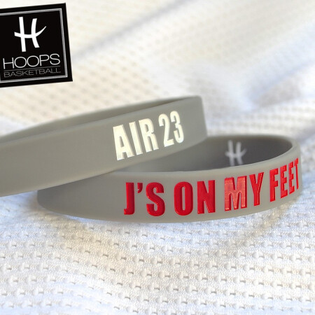 J'S ON MY FEET / AIR 23 - OPASKA NA RĘKĘ RUBBERBAND