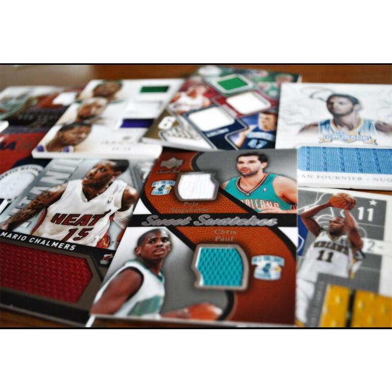 MYSTERY PACK GAME USED - 15 KART NBA W PACZCE