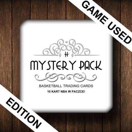 MYSTERY PACK GAME USED - 10 KART NBA W PACZCE