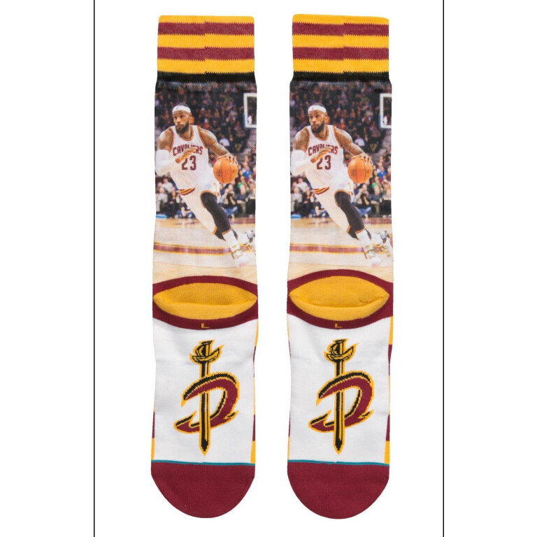 STANCE NBA LEGENDS LEBRON JAMES