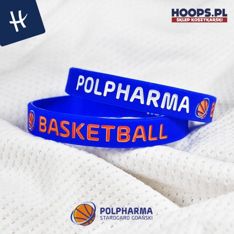 POLPHARMA BASKETBALL - OPASKA NA RĘKĘ RUBBERBAND