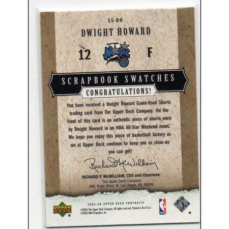 DWIGHT HOWARD - MAGIC - KARTA NBA