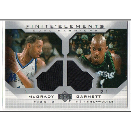 TRACY McGRADY / KEVIN GARNETT - MAGIC / TIMBERWOLVES - KARTA NBA