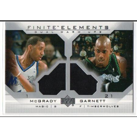 TRACY McGRADY / KEVIN GARNETT - MAGIC / TIMBERWOLVES - KARTA NBA