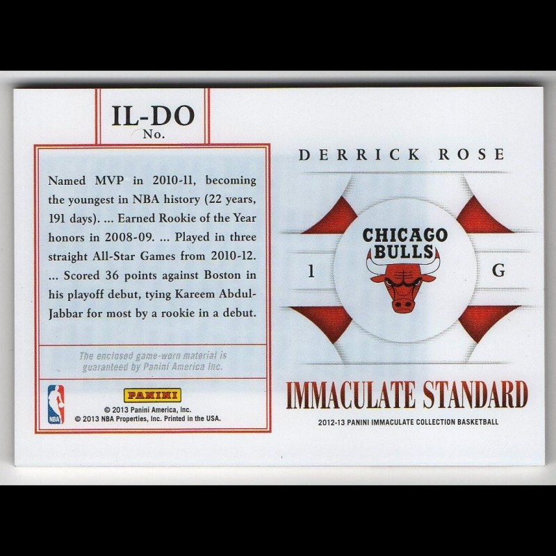DERRICK ROSE - KARTA NBA - BULLS