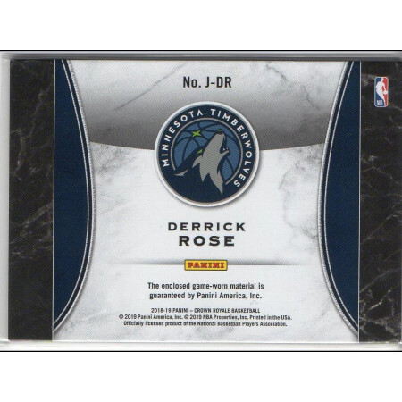 DERRICK ROSE - KARTA NBA - TIMBERWOLVES