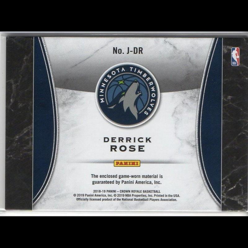 DERRICK ROSE - KARTA NBA - TIMBERWOLVES