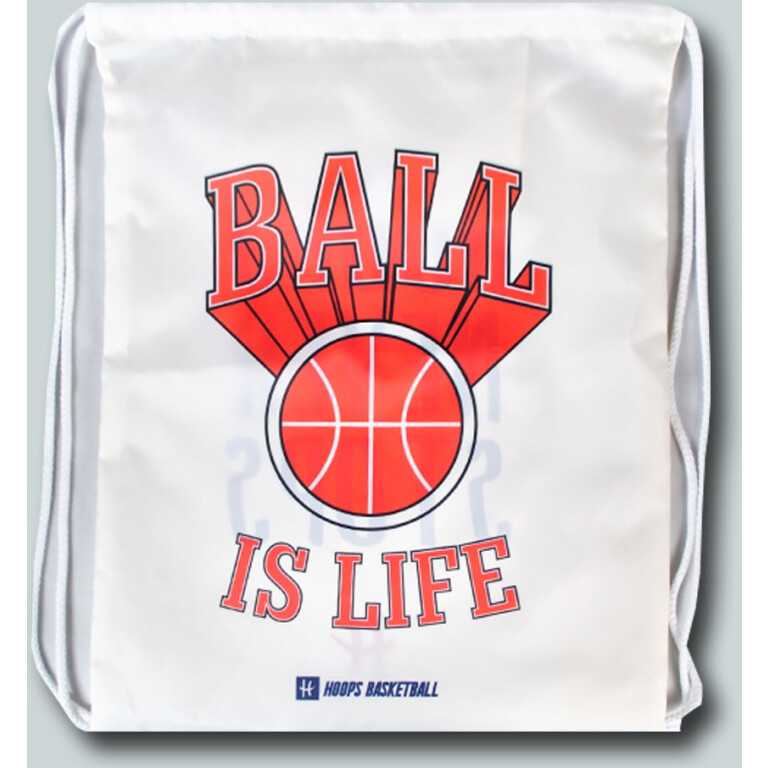 BALL IS LIFE / HOOPS NEVER STOPS - WOREK NA BUTY